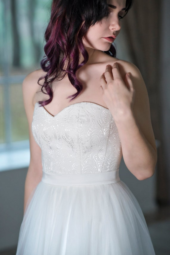 Heather - sweetheart neckline corset