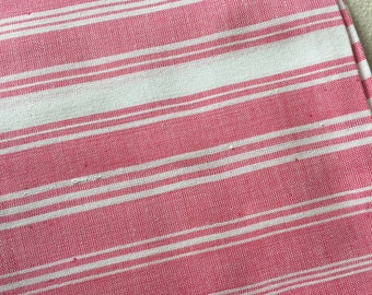 Salmon pink Handwoven pure cotton towel