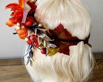 Autumn Splendor Hair Ornament