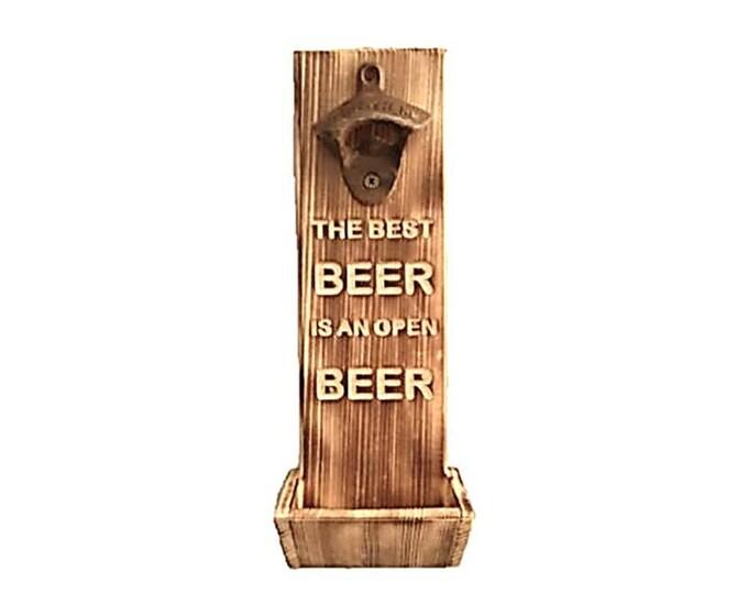 Bottle Opener Best Beer Is An Open Beer Carving