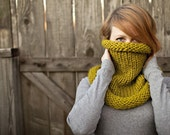 Cozy Cowl in Chartreuse