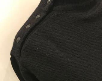 Turtleneck nautical sweater
