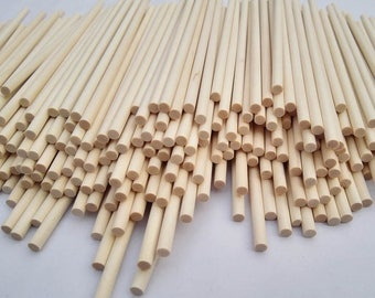 All kinds of size Long Wood Stick, Unfinished Natural Wooden Stick, Round Stick, Candy Apple Sticks, Lollipop Sticks, DIY