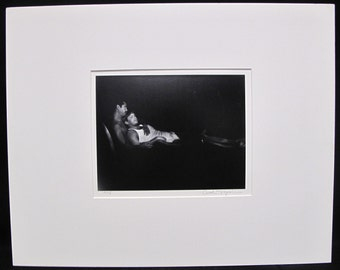 Beautiful Carole Topalian Matted Photograph Untitled 1995 Gay Interest