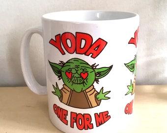 Yoda One for Me Gift Mug