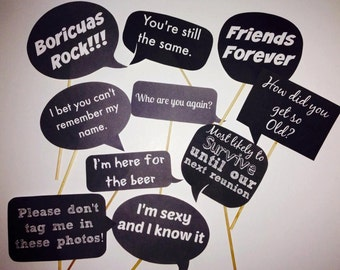 Class Reunion Signs