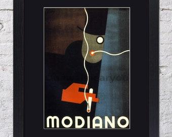 Modiano - Cigarette - Mounted & Framed Vintage Print