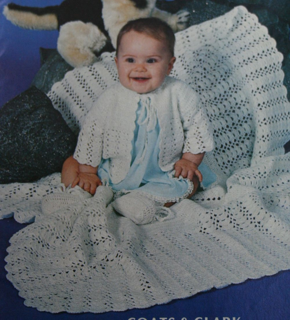 Knitting Patterns Baby Crochet Patterns Small Pleasures Red Heart ...