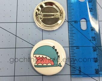 Goch Button Pin