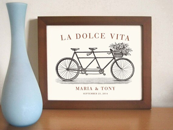Wedding Art Gifts: Unique Engagement Gift Italian Wedding Decor Unique Wedding