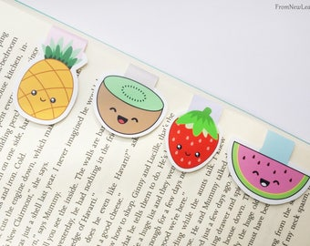 Summer Fruits Magnetic Bookmarks