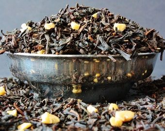 Smoked Almond Loose Leaf Tea - Smoked Tea - Almond Tea  - Loose Leaf Tea - Tea - Tea Gift