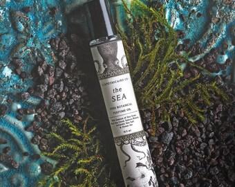The Sea Perfume Oil, Botanical Perfume, Vegan Perfume, Aromatherapy Perfume, Sea Perfume, Ocean Perfume, Earthy Perfume, Fresh Perfume, Boho