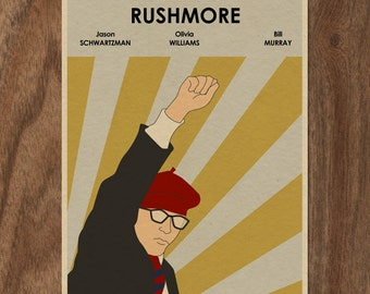 RUSHMORE Limited Edition Movie Print