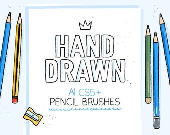 AI pencil brushes