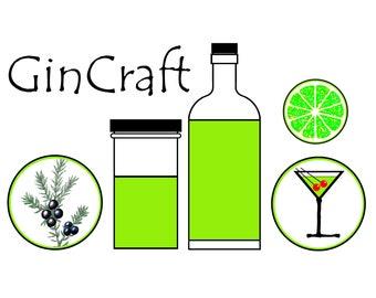 GinCraft Recipe Booklet