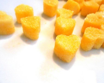 Sugar Cubes, Lemon Hearts, Flavored Colored Sugar, Tea Parties, Champagne Toasts, Tea, Shower Favors, Valentine Gift