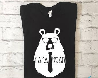 Papa bear shirt | Dad shirt | Bear shirt | Papa shirt | Bear family shirt | Fathers day gift | Gifts for dad | Daddy and me | Family