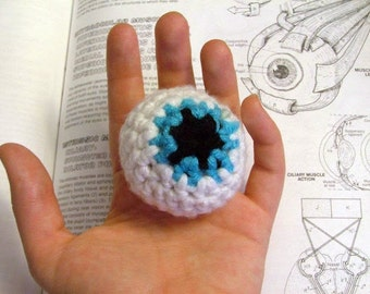 Pattern, Eyeball Crochet Plush