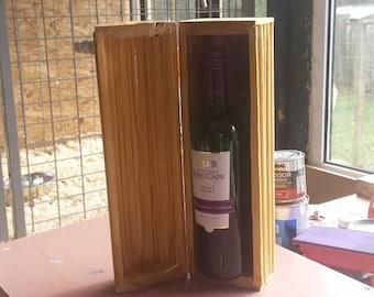 Wine Bottle Casket, Presentation Box