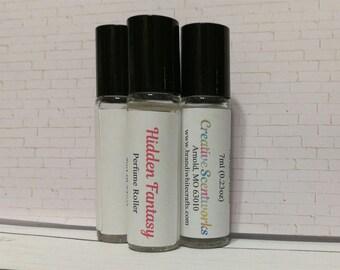 Hidden Fantasy Scented Perfume Roller, Roll-On Perfume, Perfume Oil