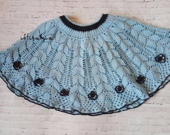 Crochet skirt for girl Summer skirt Cotton skirt Girls crochet skirt Girls skirt Toddler skirt Grass skirt Skirt Girls crochet Kids skirt