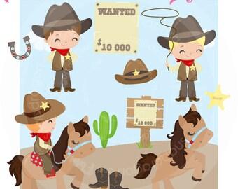 Western clip art etsy cowboy clipart western clipart western pony cowboy digital papers western digital papers voltagebd Choice Image