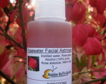 Fresh Rosewater Facial Toner, Cleanse, Mist, Tone Skin, Glycerin, Aloe vera, Witch Hazel