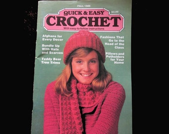 Quick and Easy Crochet  Fall  1986