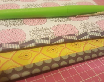 pineapple mini notebooks