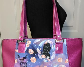 After All This Time Always Severus Snape Lily Potter Harry Potter Everyday Tote Large Bag Gifts for Her Unique and Stunning
