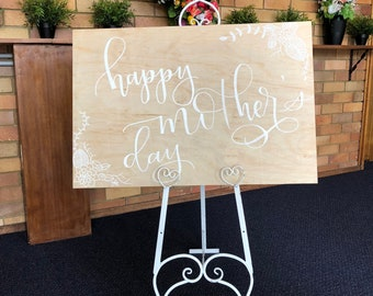 Customised wooden signs