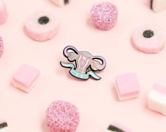 Jaws Of Life Soft Enamel Pin, Feminist Pin, Girls United Pin