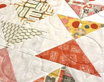 Twenty Three Lap Quilt — Homemade