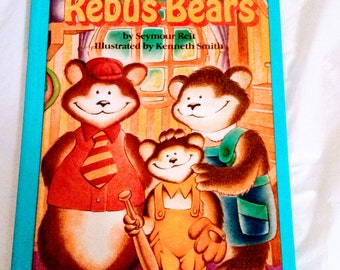 NEW The Rebus Bears by Seymour Reit 1989, New