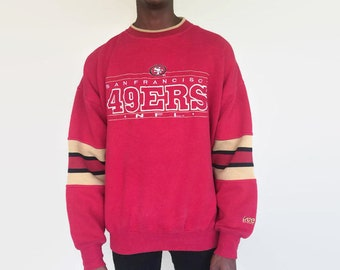 San Francisco 49ers sweatshirt / vintage 90s retro 80s San Francisco 49ers NFL football sweater / mens womens large xl vintage shirt jersey
