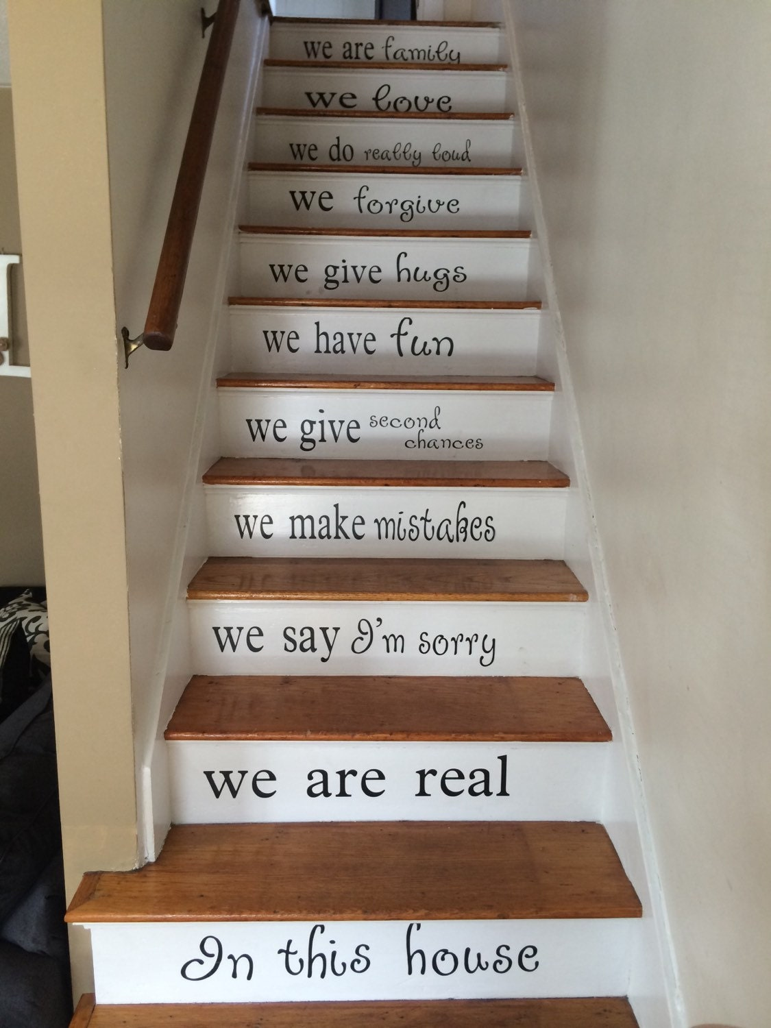 Stairs Decal Vinyl Decal For Staircase Custom Color In