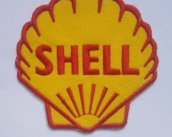 Shell Petroleum Patch Iron on Embroidered Patch 8.50 cm x 8.50 cm