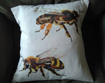Honey Bee Cushion/Pillow