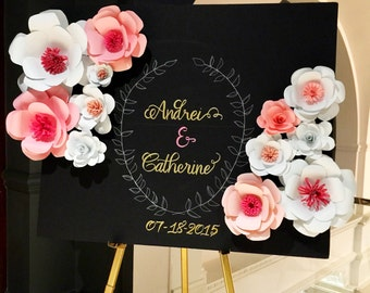 "Wedding Welcome Sign - 36"" x 60"""