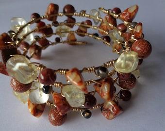 Canyon Treasures Coil Bracelet