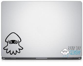 Squid - vinyl window decal - car window sticker