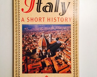 Italy Book  A Short History Book by Harry Hearder 1997 Prehistoric Italy to World War ll and Beyond Culture Politics Economy