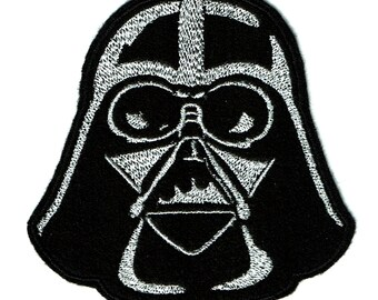 Darth Vader Embroidered Iron-On Patch Star Wars