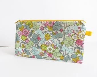Liberty Lawn 'Boxford' zippered pencil case