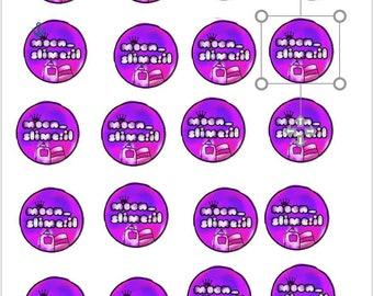 דפי לוגו - של העמוד שלכם - 360 חתיכות