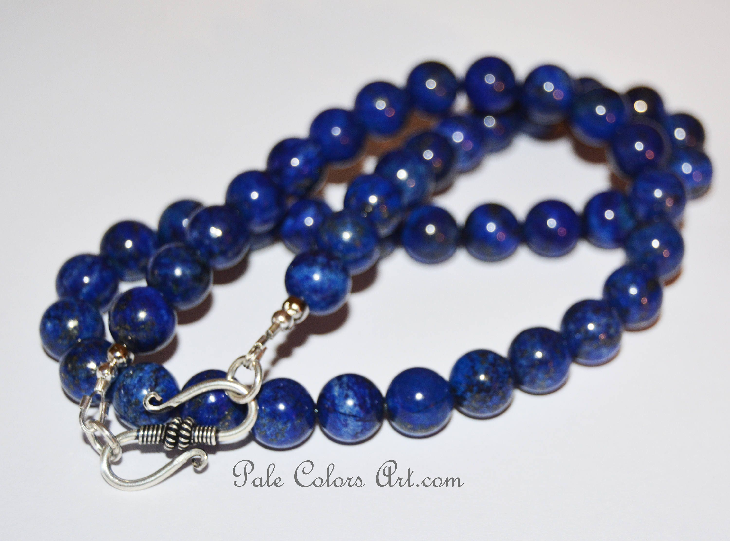 product very dsc clothing clothingvery smoky necklace vintage blue bead