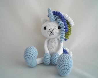 Crochet Unicorn Doll / Amigurumi Unicorn / Crochet Plush Unicorn Toy / Plush Unicorn Soft Toy / Magical Unicorn Plush Toy / Crochet Soft Toy