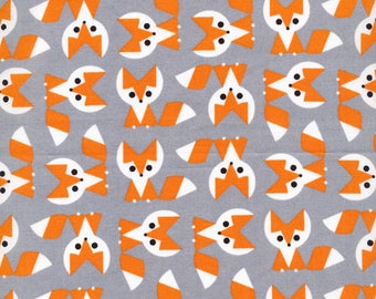 Fox Fabric from Picture Pie by Ed Emberley 100% Organic Cotton from Cloud 9