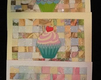 Pack of Ten Handmade Birthday Cards-Pack of Ten Birthday Cards for Kids
